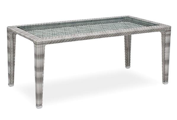 landmann rattan essgruppe fiorana 2 6 sessel farbe mocca silk white. Black Bedroom Furniture Sets. Home Design Ideas