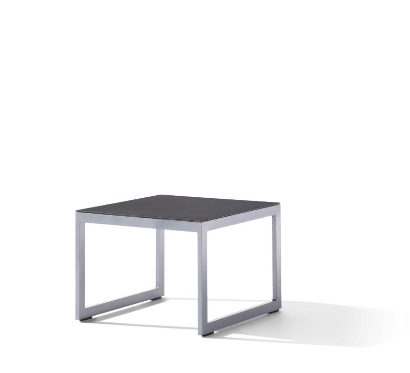 Sieger Gartenmöbel Havanna Loungetisch Maße 60x60x44 cm - Loungemöbel