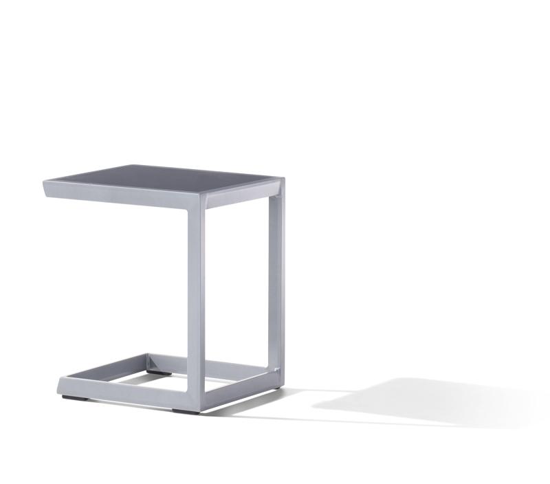 Sieger Aluminium Lounge Gruppe Serie CANNES, weiß / grau ...