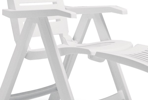 best fu teil f r klappsessel florida wei. Black Bedroom Furniture Sets. Home Design Ideas