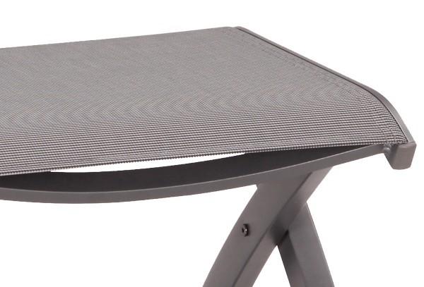 best klappsessel larino anthrazit matt. Black Bedroom Furniture Sets. Home Design Ideas