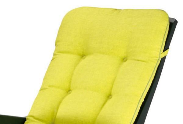 best klappsessel deck chair florida gr n inkl polster. Black Bedroom Furniture Sets. Home Design Ideas