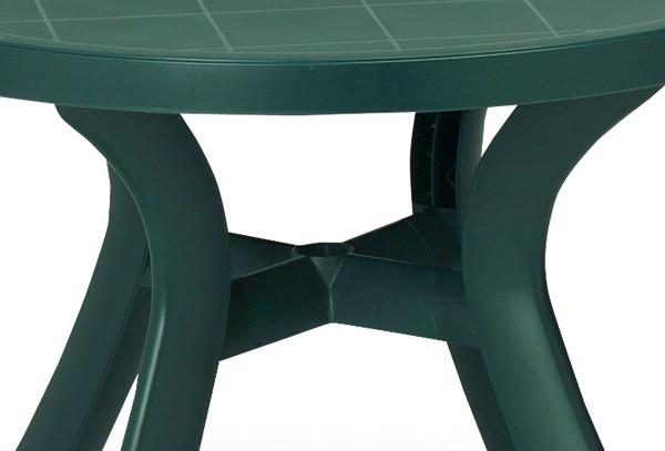 best tisch kansas rund 100cm gr n. Black Bedroom Furniture Sets. Home Design Ideas