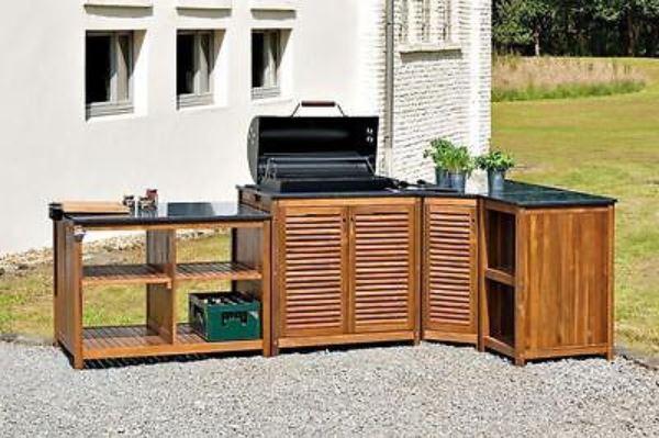 landmann belardo gartenk che grillschrank inkl grill black taurus 660. Black Bedroom Furniture Sets. Home Design Ideas