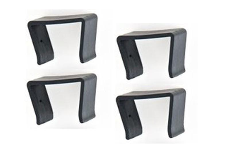 rattan loungem bel halteklammern f r serie espace 4er set. Black Bedroom Furniture Sets. Home Design Ideas