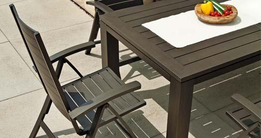 landmann listello gartenm bel in zeitlosem exklusivem design. Black Bedroom Furniture Sets. Home Design Ideas