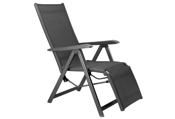 kettler basic plus relaxsessel anthrazit anthrazit. Black Bedroom Furniture Sets. Home Design Ideas
