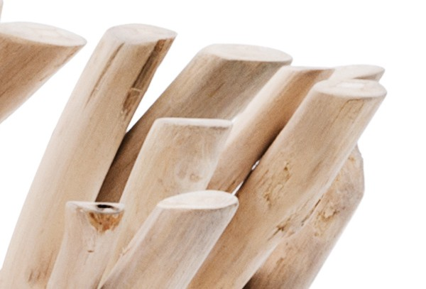 landmann belardo deko schale theria recycled teak 48x48x17 8cm. Black Bedroom Furniture Sets. Home Design Ideas