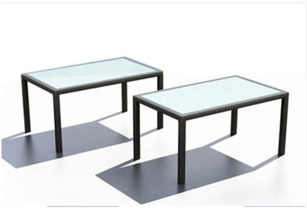 rattan gartentisch linea malaga esstisch 180 cm farbe. Black Bedroom Furniture Sets. Home Design Ideas