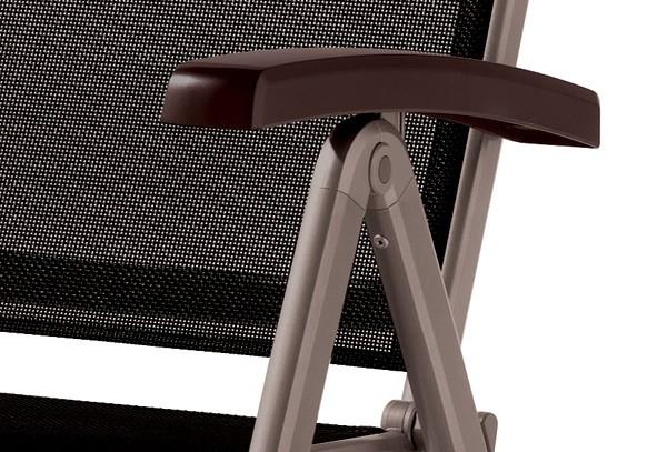 sieger klappsessel bodega farbe marone mocca. Black Bedroom Furniture Sets. Home Design Ideas