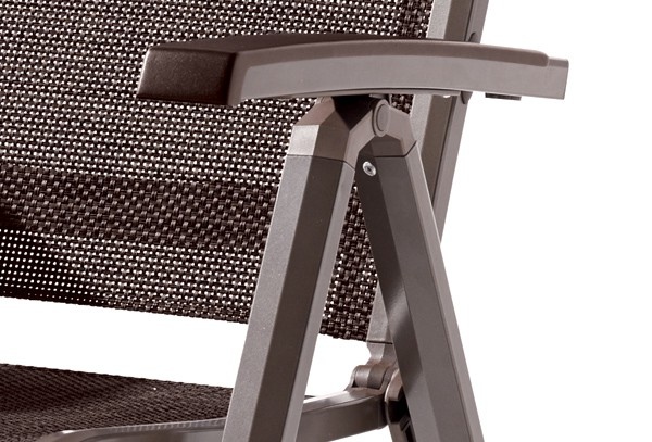 sieger klappsessel calvi farbe marone mocca. Black Bedroom Furniture Sets. Home Design Ideas