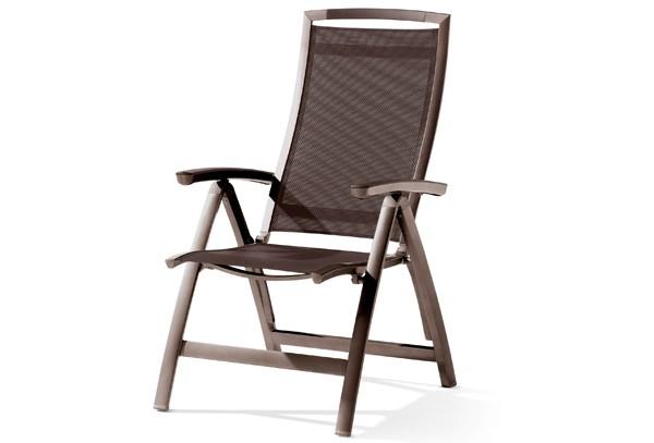 sieger klappsessel trento farbe marone mocca. Black Bedroom Furniture Sets. Home Design Ideas