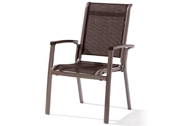 sieger stapelsessel calvi farbe marone mocca. Black Bedroom Furniture Sets. Home Design Ideas