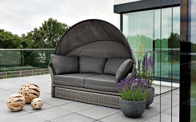 sonneninsel rattan great sicht wind und bietet igloo with. Black Bedroom Furniture Sets. Home Design Ideas