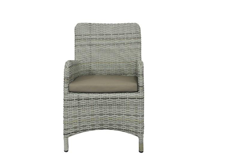 rattan relaxsessel gartenstuhl rotterdam farbe bicolor grau braun meliert. Black Bedroom Furniture Sets. Home Design Ideas