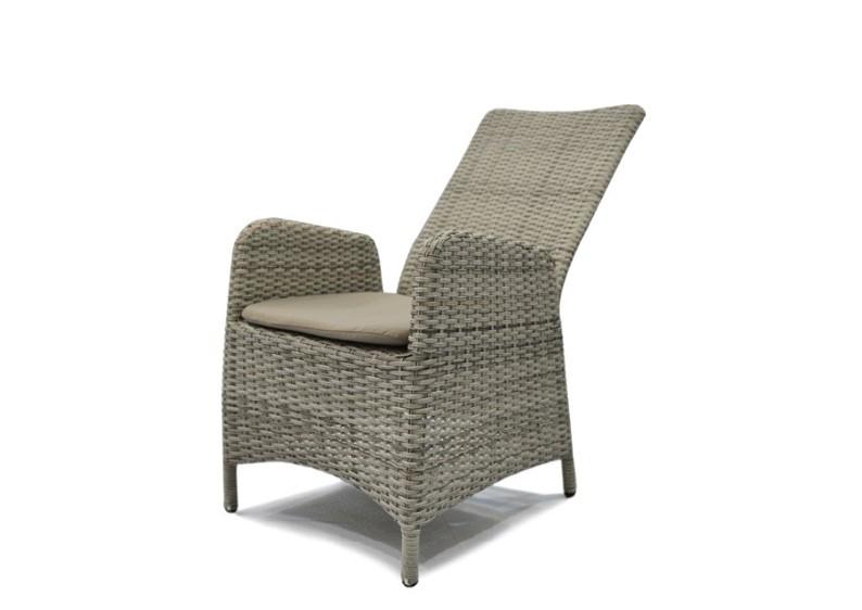 Gartenstühle rattan braun  Rattan Relaxsessel Gartenstuhl Rotterdam Rückenlehne verstellbar ...
