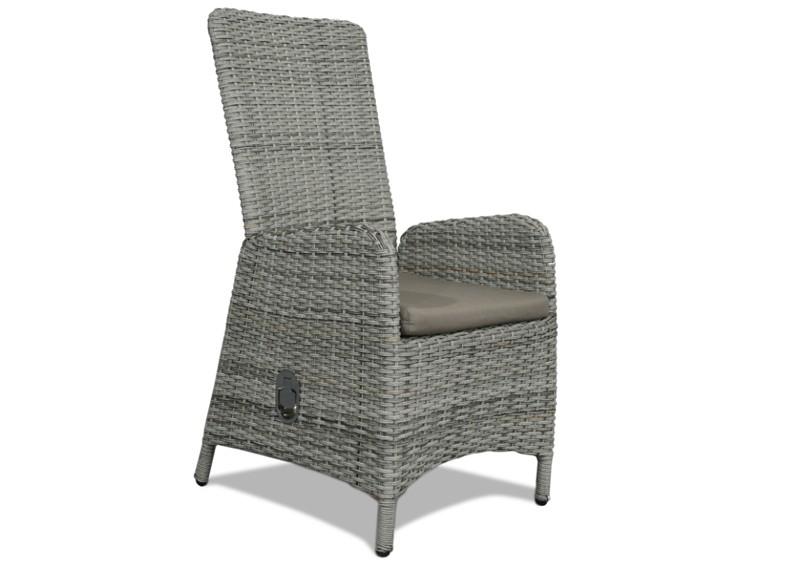 rattan relaxsessel gartenstuhl rotterdam r ckenlehne verstellbar farbe bicolor grau braun meliert. Black Bedroom Furniture Sets. Home Design Ideas