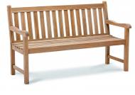 Best Teak-Bank Moretti 150cm, Farbe: grey wash