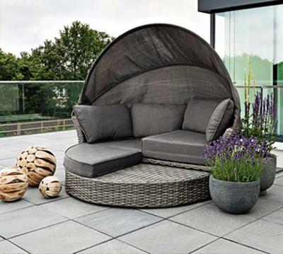 rattanm bel f r terrasse. Black Bedroom Furniture Sets. Home Design Ideas