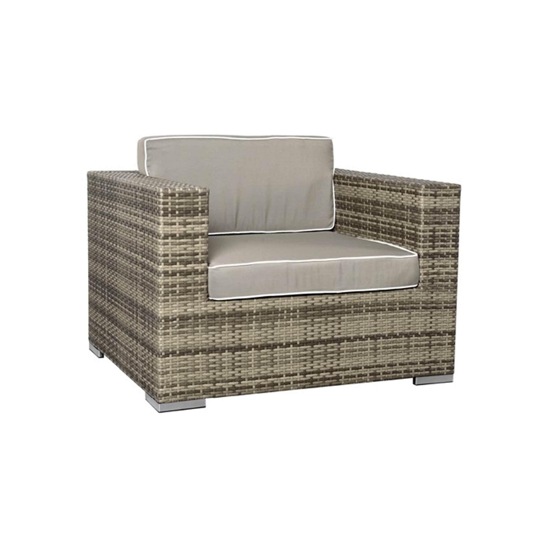 rattan lounge grau rund. Black Bedroom Furniture Sets. Home Design Ideas