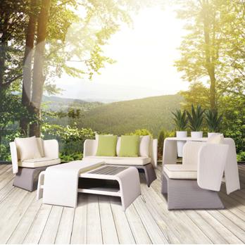 premium outdoorm bel aus polyrattan direkt vom rattan profi. Black Bedroom Furniture Sets. Home Design Ideas
