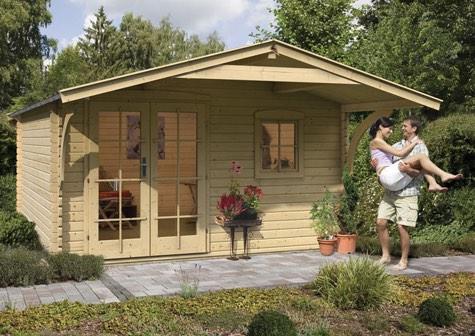 gartenhaus g nstig kaufen und selber bauen. Black Bedroom Furniture Sets. Home Design Ideas