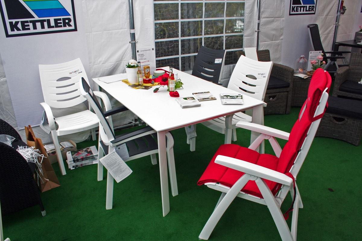 Gartenmobel Set Kingston : Kettler Happy Sessel, Rimini Multipositionssessel und Kettalux Tisch